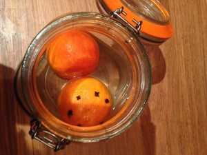 Seville orange recipes pomander gin