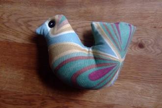 Thrifty  handmade bird