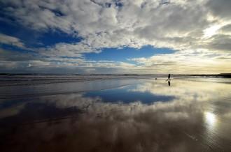 Sugar sands Northumberland coast